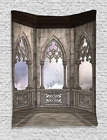 Ambesonne appartement Decor Collection, chambre à coucher Salon Dortoir Décoration murale à suspendre tapisseries, Multicolore, Tissu, Multi 26, 60