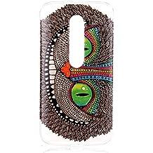 Ultra Slim Funda de TPU Silicona para Motorola Moto G G3(3rd Gen, 2015) - Yihya La Piel de TPU Gel Silicona Protector Colorful Pattern Design Back Carcasa Case Cover--Color 06