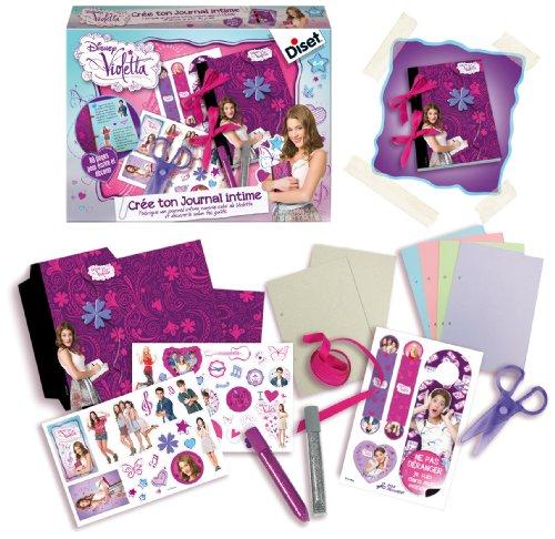 Diset - 46572 - Crea il tuo diario segreto 'Violetta'