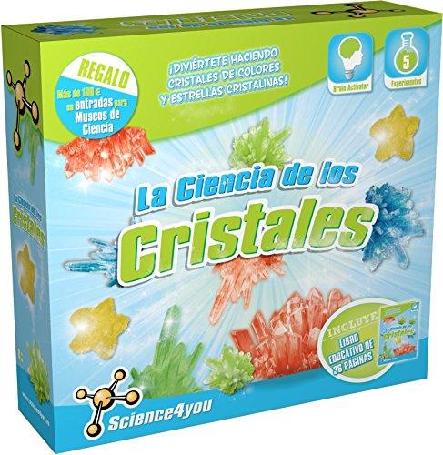 SCIENCE4YOU - LA CIENCIA DE LOS CRISTALES  JUGUETE CIENTIFICO Y EDUCATIVO ( 489810)