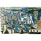 The Bay at Cannes, Pablo Picasso - Medici Drucken
