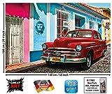 GREAT ART Poster - Oldtimer in Havanna Wanddekoration -