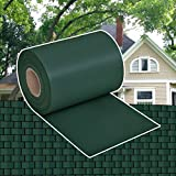 WEILANDEAL Dämmrolle Grün PVC für Zaun, 70 x 0,19 m Zaun-Material: PVC: 100%