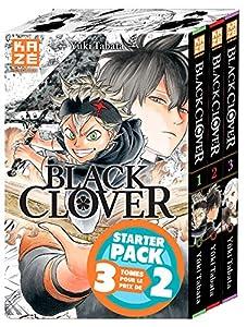 Black Clover Starter Pack Tomes 1 à 3
