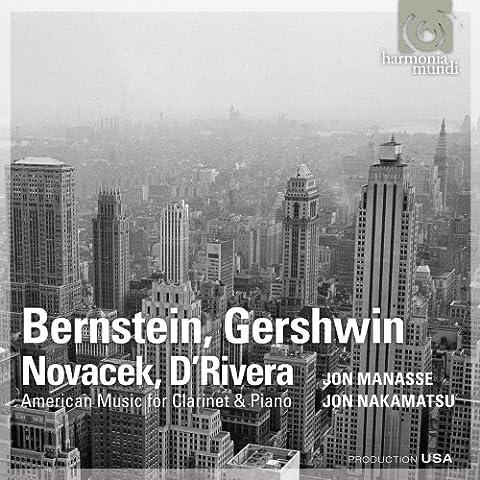 Sonates de bernstein, gershwin, novacek d'rivera