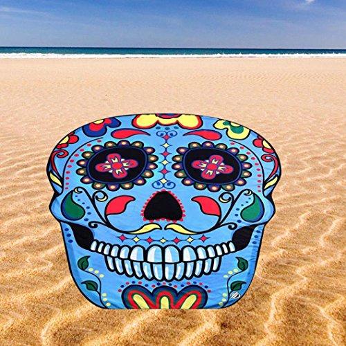 Tefamore Impresión Arco iris de la playa del verano de playa toallas...