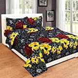 PRIDHI 180TC Pure Cotton Double Bedsheet with 2 Pillow Cover Rajasthani New Design22