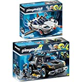 PLAYMOBIL® Top Agents 2er Set 9252 9254 Agent P.'s Spy Racer + Dr. Drone Pick-up