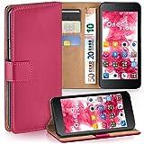 Huawei Honor 6 Hülle Pink mit Karten-Fach [OneFlow 360°