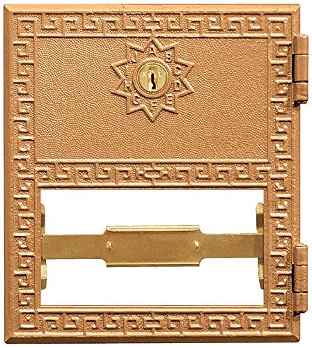Salsbury Industries 2052Ersatz Tür und Schloss Nr. 2Größe für Postfach mit Schlüssel, Messing (Postfach Salsbury)