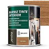 Titanlux Titan Barniz Tinte Madera Teca 375 ml: Amazon.es ...