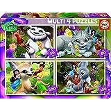 Puzzles Educa - Multi 4 puzzles, diseño Fairies, 50-80-100-150 piezas (16350)