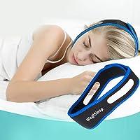 Anti Ronflement Efficace, Chin Strap,Anti-ronflement Mentonnière,Solution Ronflements Réglable Mentonnière Snore Stopper…