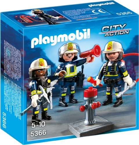 Preisvergleich Produktbild PLAYMOBIL 5366 - Feuerwehr-Team