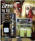 Die besten FX-Halloween-Kostüme - Reißverschluss FX Make-Up Satz Unisex Kostüm Halloween Accessoires Bewertungen