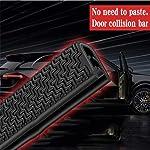 ZHOUMOFZ 5Meter U type door seal car sound insulation car door sealing strip rubber weatherstrip edge trim noise...