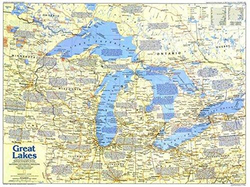 Reproduktion eines Poster Präsentation-Kanada-Der Großen Seen 1(1987)-61x 81,3cm Poster Prints Online kaufen