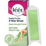 Veet Half Body Waxing Kit for Dry Skin - 8 Strips