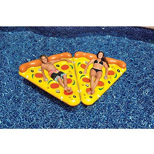 Zoom IMG-3 ygjt piscina galleggiante pizza gigante