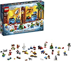 LEGO City - Le calendrier de l'Avent LEGO City  - 60201 - Jeu de Construction