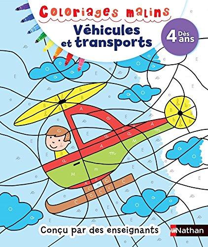 Coloriages magiques - Véhicules et transports, Dès 4 ans par Stéphanie Morisson