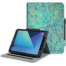 """Fintie Samsung Galaxy Tab S3 9.7 Funda, [Multi-Ángulo de Visualización] Slim Stand Case Plegable Smart Cover con Auto-Sueño / Estela para Samsung Galaxy Tab S3 9.7"""" Tablet, Shades of Blue"""