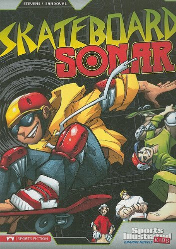 Skateboard Sonar (Sports Illustrated Kids Graphic Novels) by Eric Stevens (15-Jan-2010) Paperback