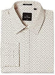 Park Avenue Mens Formal Shirt (8907663252789_PMSZ09880-F4_40_Medium Fawn)