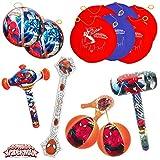Spiderman Kit/scatola par la festa/merenda compleanno dei bambini (13 pezzi)