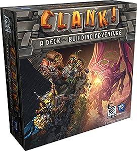 Renegade Game Studios RGS00552-Clank, Juegos estándar de familias, Juego de Mesa de Cartas