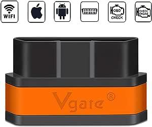 Vgate None Icar Wifi Schwarz Orange Auto