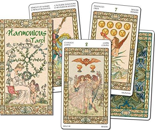 Scarabeo lo cartes de tarot motif romantique de réparation: