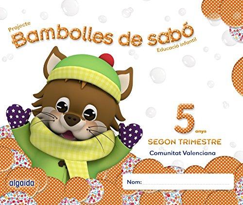 Bambolles de sabó 5 anys. 2º Trimestre (Pompas de Jabón) - 9788490670347