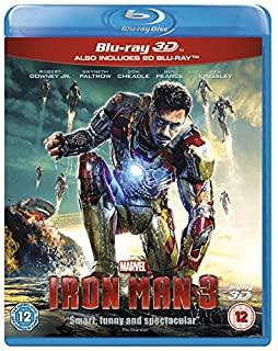 Iron Man 3 [Blu-ray 3D + Blu-ray] [Region Free] (B00BL1BJFW) | Amazon price tracker / tracking, Amazon price history charts, Amazon price watches, Amazon price drop alerts