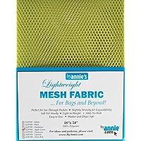 byannie sup209de Apple Lightweight Mesh Fabric, 18x 54Inch Aprox. 45,7x 137cm, Red plástico, 100% poliéster, 28x 20x 1cm