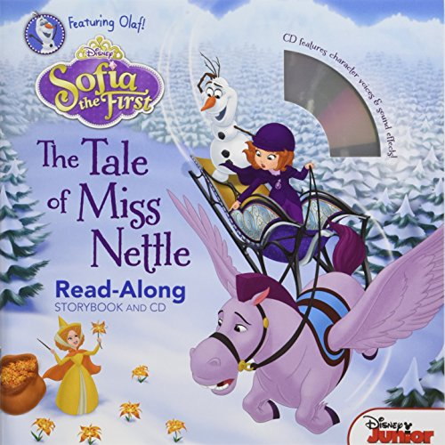 Sofia the First: The Tale of Miss Nettle [With Audio CD] (Sofia the First Read-Along Storybook) por Disney Book Group