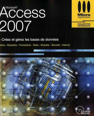 Access 2007 (1Cédérom) par Hervé Inisan