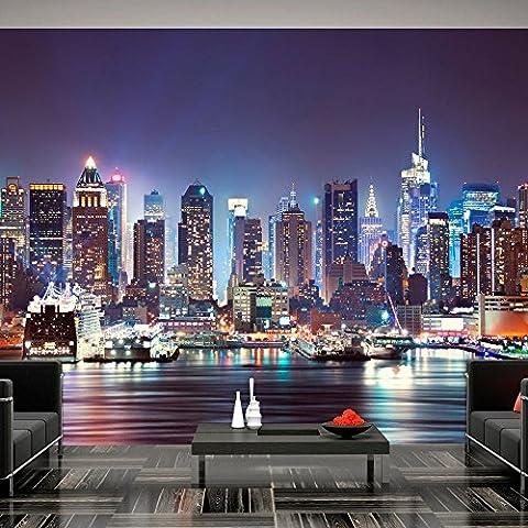 Fotomural 250x175 cm - 3 tres colores a elegir - Papel tejido-no tejido. Fotomurales - Papel pintado - Ciudad New York