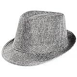 Unisex uomo donna Packable Fedora Trilby paglia sole spiaggia cappelli in  vendita b795a806613c