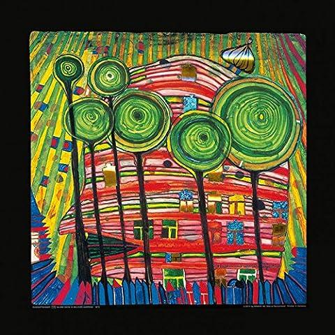 Friedensreich Hundertwasser - Posters: Friedensreich Hundertwasser Poster Reproduction - Dingsdas