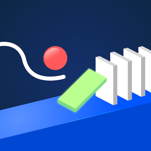 Hello Happy Domino - *WARNING* HARDEST GAME ! Physics Draw and Drop - popular super simple fun games for free (2019) no wifi -