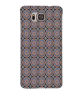 Fuson Designer Back Case Cover for Samsung Galaxy Alpha :: Samsung Galaxy Alpha S801 :: Samsung Galaxy Alpha G850F G850T G850M G850Fq G850Y G850A G850W G8508S :: Samsung Galaxy Alfa (Stars Flowers Circle CIrcle And Stars Flower Pattern)