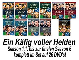 Ein Käfig voller Helden - Season 1-6 komplett - Set Deutsch (26 DVDs)