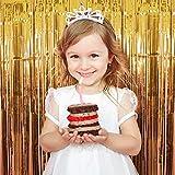 Best Party Decorations - Party Propz Set of 2 Metallic Golden Foil Review