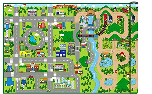 wipe-clean-giant-172cm-x-120cm-kids-city-cars-playmat-eva-foam-mat-indoor-or-outdoor-by-playlearn