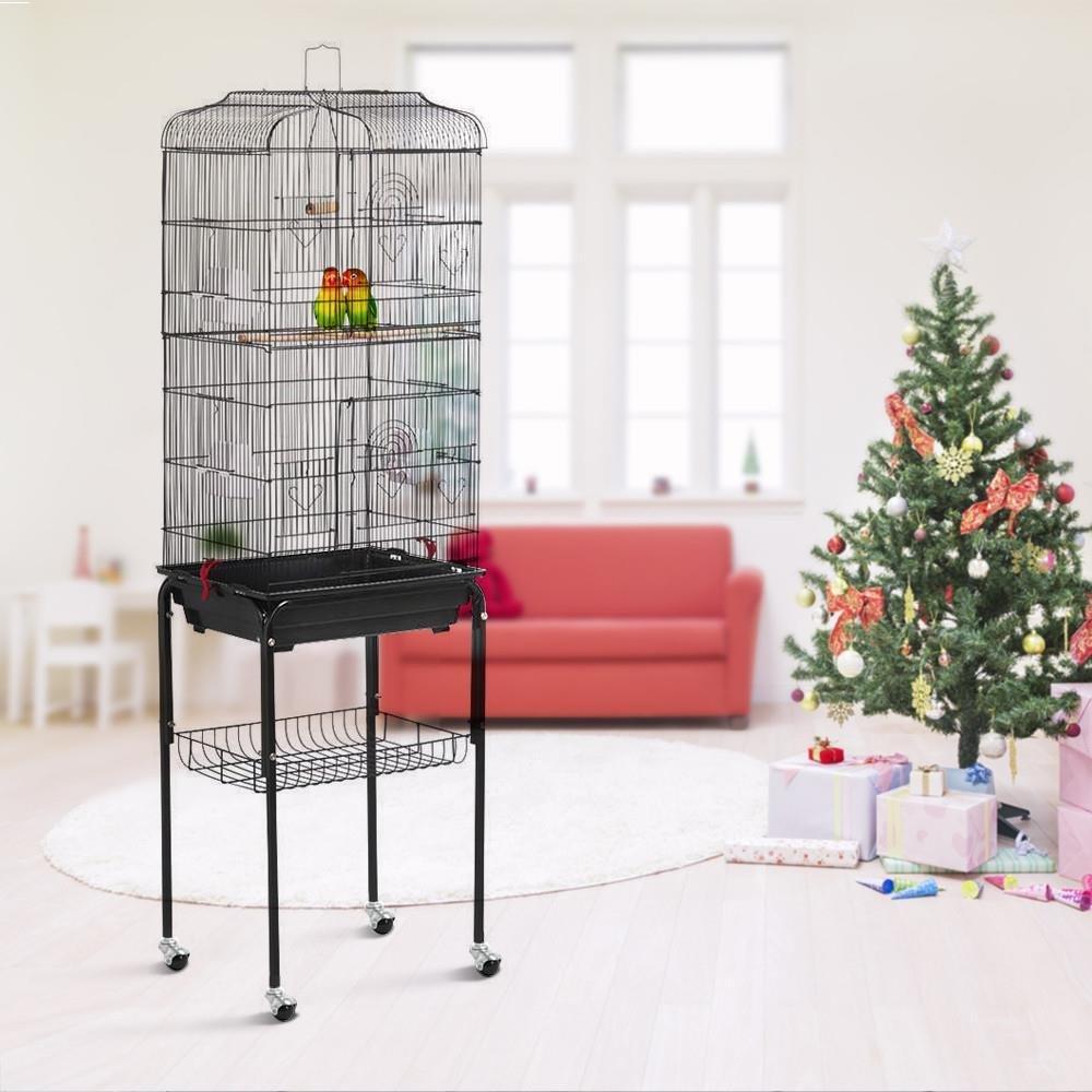 Comprar Jaula para Pájaros Aves Canarios 46 x 35,5 x 158 cm - Las mejores jaulas para tus pájaros - Tiendas Online con Envíos Baratos o Gratis