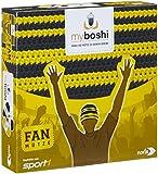 Noris Spiele 606311345 - My Boshi, Fan Mütze in den Vereinsfarben schwarz-gelb