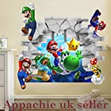 Super Mario Kinder Raum Wandtattoo K146(50* 70) cm