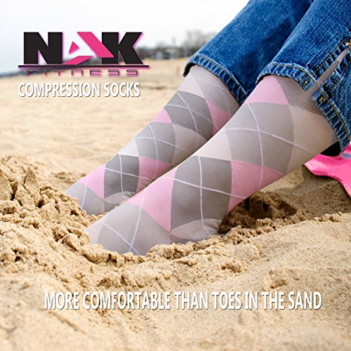 NAK-Fitness-Graduated-Compression-Socks-Men-And-Women-1-Pair-Best-For-Running-Nurses-Crossfit