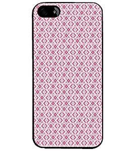 PrintDhaba Pattern D-5133 Back Case Cover for APPLE IPHONE 5S (Multi-Coloured)